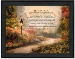 "If You Could See Me Now By Robin-Lee Vieira, Printed Wall Art, Ready to hang, Black Frame, 19"" x 15"""