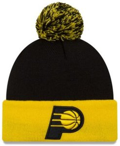 Indiana Pacers Black Pop Knit Hat