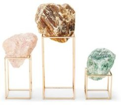 Stones on Stand - Set of 3