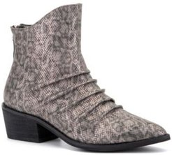'Take A Bow' Ankle Boots Women's Shoes