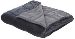 Home Comfort Plush Weighted Blanket, 12lb Bedding