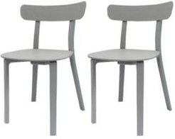 Long Horn Dining Chair, Set of 2