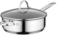 """Comfort Stainless Steel Nonstick 10"""" Covered Deep Skillet"""