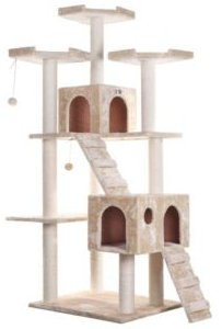 Multi-Level Cat Tree Large Cat Play Furniture with Sratchhing Posts, Large Playforms