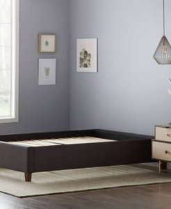 by Lucid Upholstered Platform Bed with Slats, California King