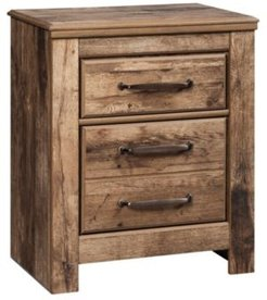 Blaneville Two Drawer Nightstand