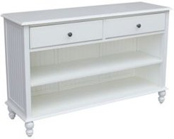 Cottage Collection Console Table with Storage