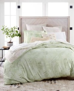 Closeout! Lucky Brand Paradise Cotton 230-Thread Count 2-Pc. Twin Duvet Set, Created for Macy's Bedding