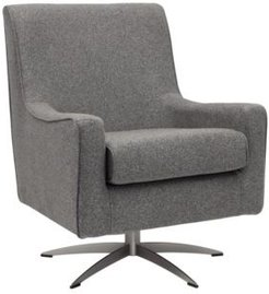 Morgan Mid-Century Five Prong Armed Chair
