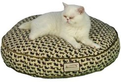Dog Bed Polyfilled Pet Cushion Crate Mat Soft Pad Washable and Cozy For Medium Dog