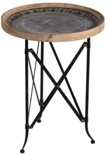 Classic Vintage-like Round Side Table