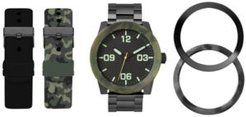 Interchangeable Strap & Bezel Watch 48mm Gift Set