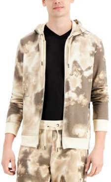 Inc Men's Chartered Printed Hoodie, Created for Macy's
