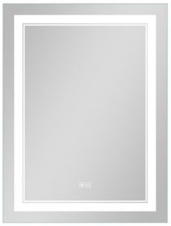 Smart Led Illuminated Bathroom Vanity Mirror in Light with Anti-Fog and Dimmer