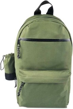 Backpack with Detachable Water Bottle Holder