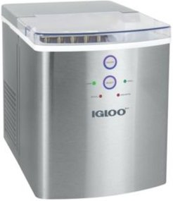 ICEB33SS 33-Pound Ice Maker, Stainless Steel