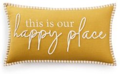 This is Our Happy Place Oblong Pillow