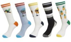 Athletic Socks, Pack of 5
