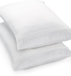 Martha Stewart Essentials 2-Pack Standard/Queen Pillow Protectors, Created for Macy's Bedding