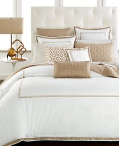 Embroidered Frame Full/Queen Comforter, Created for Macy's Bedding