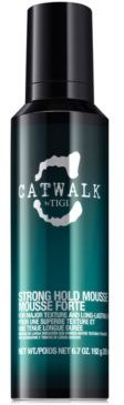 Catwalk Strong Hold Mousse, 6.7-oz, from Purebeauty Salon & Spa