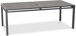 """Aluminum 84"""" x 42"""" Outdoor Dining Table, Created for Macy's"""