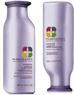 Hydrate Shampoo & Conditioner (Two Items), 8.5-oz, from Purebeauty Salon & Spa