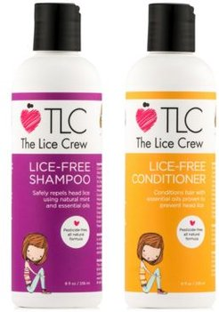 Lice-Free Shampoo & Conditioner (Two Items), 8-oz, from Purebeauty Salon & Spa