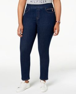 Plus Size Gramercy Pull-On Jeans, Created for Macy's