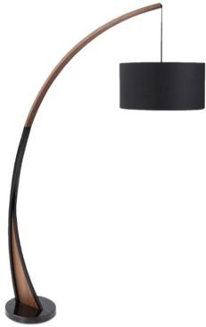 Noah Walnut Floor Lamp