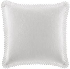 Solid White Square Pillow Bedding
