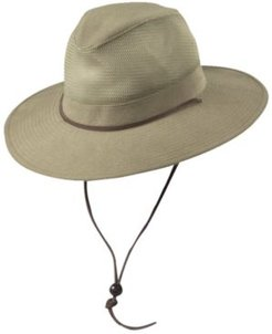 Brushed Twill Safari Hat