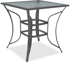 Closeout! Reyna Aluminum Outdoor Bar Table, Created for Macy's