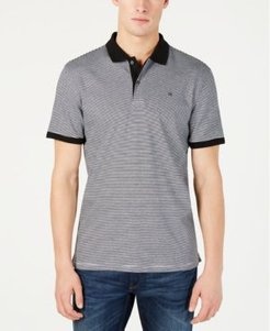 Liquid Touch Micro Stripe Polo Shirt