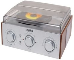 3-Speed Turntable with Am-fm Receiver and Stereo Speakers
