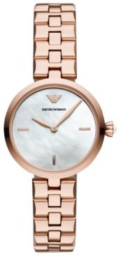 Rose Gold-Tone Stainless Steel Bracelet Watch 32mm
