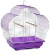Palm Beach Scallop Roof Budgie Cage