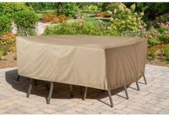 """Protective Vinyl Cover for Hanover Round or Square Dining Sets - 28"""" x 116.5"""" x 10"""""""