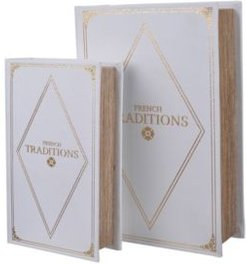 Book Boxes, Set of 2