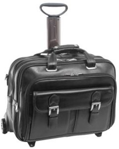 Siamod Ceresola Checkpoint-Friendly Detachable -Wheeled Laptop Briefcase