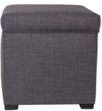 Tami Button Tufted Upholstered Storage Ottoman