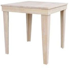 Aspen Solid Wood Top Table - Standard Dining Height