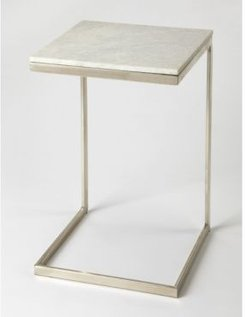Butler Lawler Marble End Table