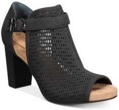 Jaccee Memory-Foam Perforated Shooties, Created for Macy's Women's Shoes