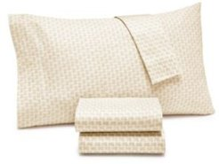 Closeout! Lucky Brand Brianna Twin 235-Thread Count 3-Pc. Sheet Set Bedding