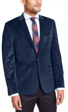 Slim-Fit Velvet Sport Coat