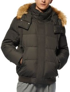Clemont Down Jacket with Removable Hood