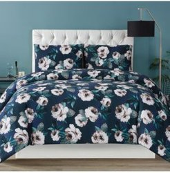 Christian Siriano Mags Floral King Comforter Set Bedding