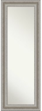 """Parlor Silver-tone on The Door Full Length Mirror, 19.5"""" x 53.50"""""""