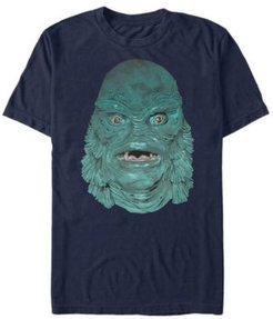 Universal Monsters Men's Creature From the Black Lagoon Big Face Short Sleeve T-Shirt